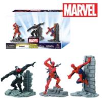 Monogram Marvel: Deadpool Venom Spider-Man Figure Set