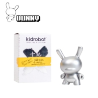 Kidrobot 10Th Anniversary Dunny Silver 3 İnch Figure