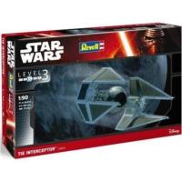 Revell Star Wars Sw Tıe Interceptor - 1:90