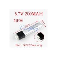 Wl Toys- V911 3.7V 200 Mah Batarya-Pil İnce Uç.