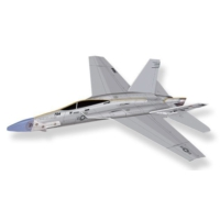 Lyonaeec United States Air Force Hornet Lastik Fırlatmalı Model Uçak