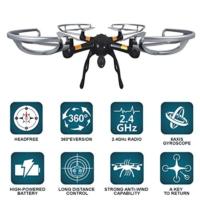 Om Kameralı 2.4 Ghz 4 Kanal 6 Eksen Gyro Quadcopter Drone Helikopter