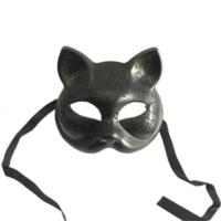 Partistok Simli Kedi Maskesi Siyah