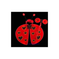 Partistok Uğur Böceği Kanadı Geniş Model