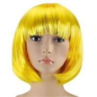 Partistok Sarı Peruk Küt Saç