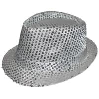 Partistok Pullu Parti Şapkası Gümüş