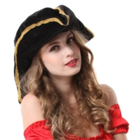 Partistok Jack Sparrow Korsan Şapkası