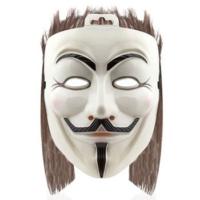 HKostüm Cadılar Bayramı For Vendetta Maske Saçlı Model