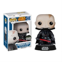 Pop Funko Star Wars Unmasked Darth Vader