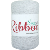 Spagetti Yarn Açık Gri Ribbon 4