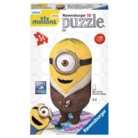 Ravensburger 116676 - 54 Parça 3D Minons B Silly Puzzle (Plastik Parçalı)