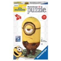 Ravensburger 116669 - 54 Parça 3D Minions Cro Puzzle (Plastik Parçalı)