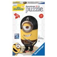 Ravensburger 116505 - 54 Parça 3D Minions Matie Puzzle (Plastik Parçalı)