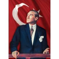 Ks Games 200 Parça bayrak ve Atatürk Puzzle