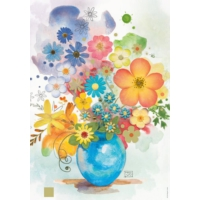 Heye 500 Parça Mavi Vazo Puzzle (Jane Crowther)