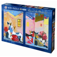 Heye 2 x 1000 Parçabouquest And Posies Puzzle (Wachtmeister)