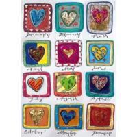 Heye 500 Parça Year Of Love Puzzle (Stefanie Steinmayer)