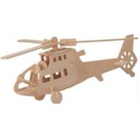 İdeal 3D Ahşap Maket Helikopter