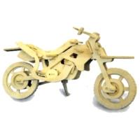 İdeal 3D Ahşap Maket Motorsiklet