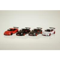 Kinsmart Porsche Gt3 Rs - 4'lü Set