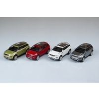 Welly Range Rover Evoque - 4'lü Set
