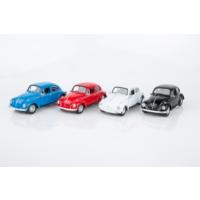 Welly Volkswagen Beetle - 4'lü Set
