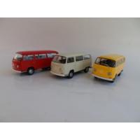 Welly Volkswagen Microbus T2 - 3'lü Set