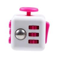 Probiel Orijinal Fidget Cube Kikstarter Versiyon Stres Küpü Pembe Beyaz
