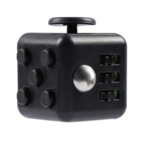 Probiel Orijinal Fidget Cube Kikstarter Versiyon Stres Küpü Siyah Siyah