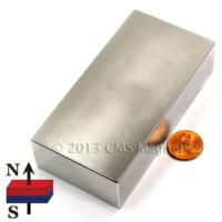 Neostrong Süper Güçlü Neodyum Mıknatıs Dikdörtgen 50X30X10 Mm (Tekli Paket)