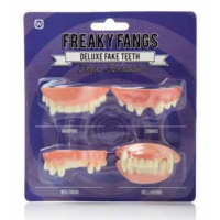 Npw Korkunç Dişler - Freaky Fangs - Takma Diş Seti