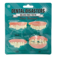 Npw Facia Dişler - Dental Disasters - Takma Diş Seti