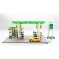 Rmz City Bp Petrol İstasyonu Maketi Işıklı Sesli Servise Station Playset