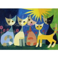 Heye Colourful Company Puzzle (1000 Parça - Rosina Wachtmeister)