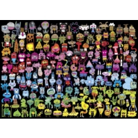 Heye Doodle Rainbow Puzzle (Jon Burgerman -1000 Parça)