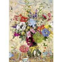 Heye Flower'S Life Puzzle (1000 Parça - Marino Degano)