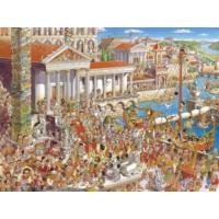 Heye 1500 Parça Ancient Rome Puzzle (Prades - Üçgen Kutu)