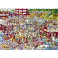 Heye 2000 Parça Bir Pazarı Puzzle (Flea Market-Schöne)