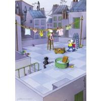 Heye 150 Parça Cleaning Puzzle (Guillermo Mordillo)
