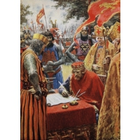 Falcon The Signing Of The Magna Carta, 1000 Parça Puzzle