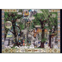 Falcon The Adventures Of Robin Hood, 1000 Parça Puzzle