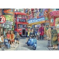 Falcon Life İn The City, 1000 Parça Puzzle