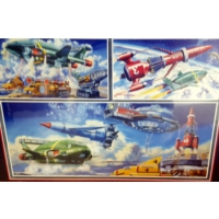 Falcon Thunderbirds Iconic Vehicles, 1000 Parça Puzzle