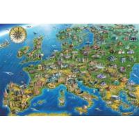 Jumbo Map Of Europe, 1000 Parça Puzzle