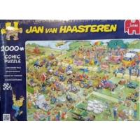 Jumbo Lawn Mower Race, 2000 Parça Puzzle