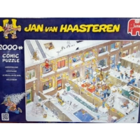 Jumbo Christmas Eve, 2000 Parça Puzzle