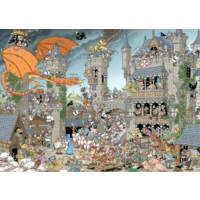 Jumbo Pieces Of History: The Castle, 1000 Parça Puzzle