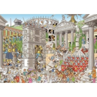 Jumbo Pieces Of History: The Romans, 1000 Parça Puzzle