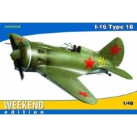 Eduard I-16 Type 18 (1/48 Ölçek)