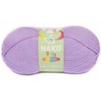 Nako Baby Lüks Minnoş Örgü İpliği 1036 Menekşe